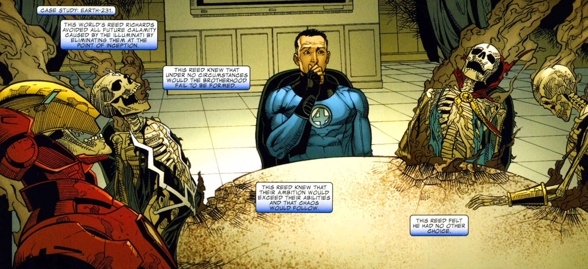 Fantastic Four Dark Reign review