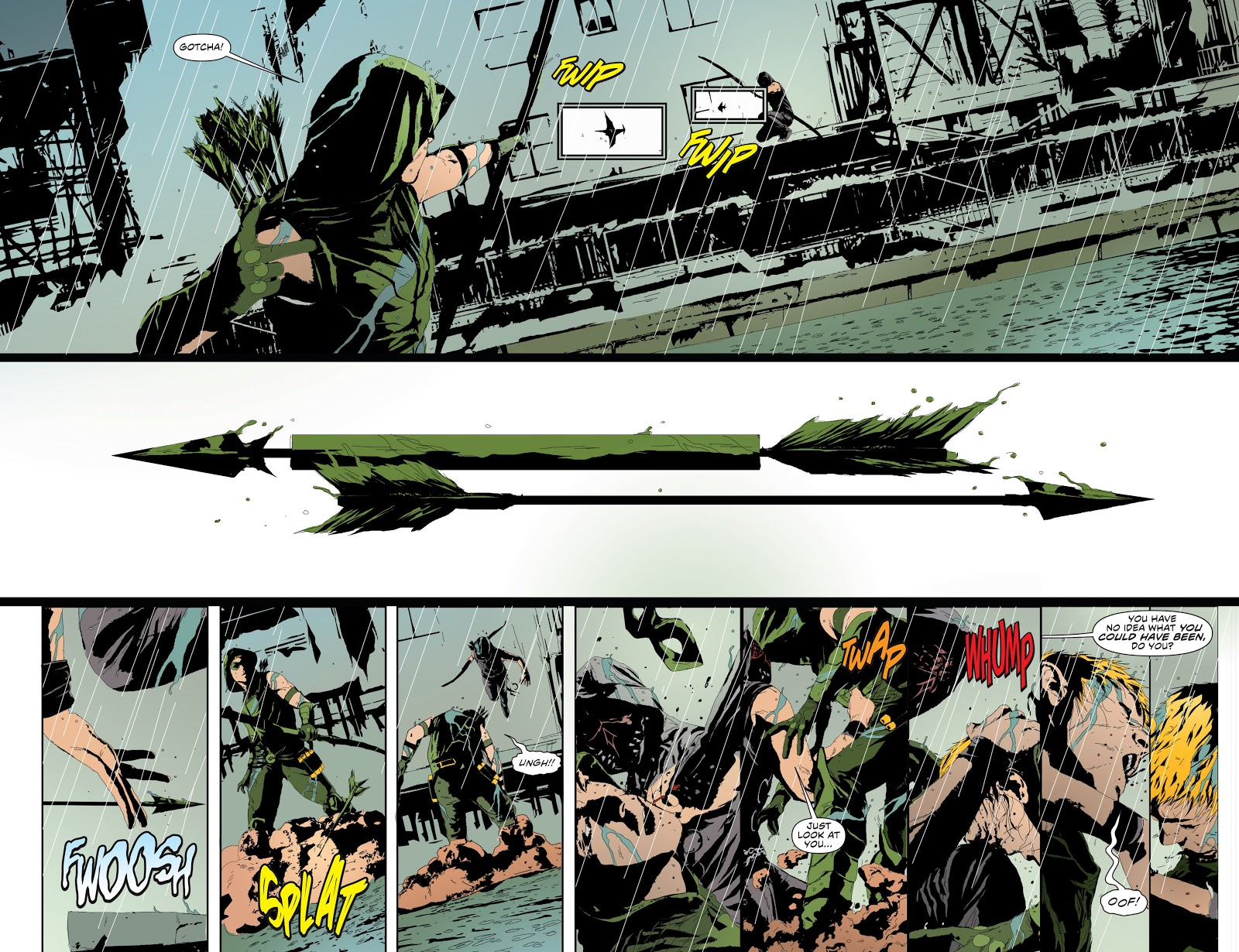 Green Arrow The Kill Machine review