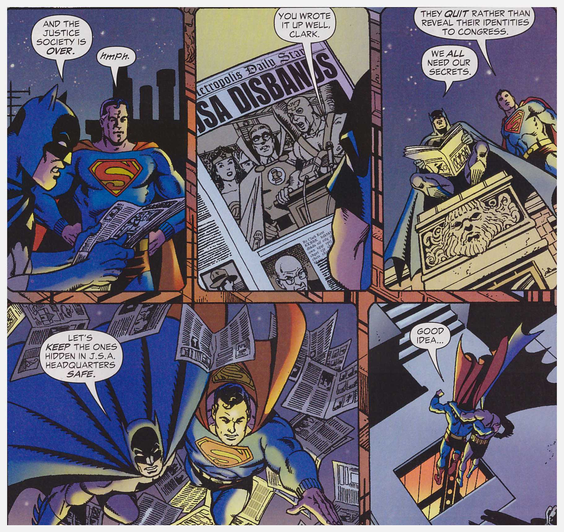 JSA Ghost Stories review