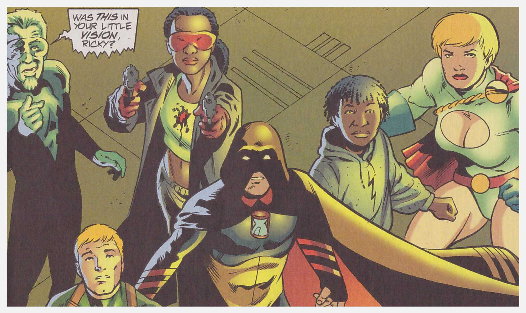 JSA Stealing Thunder review