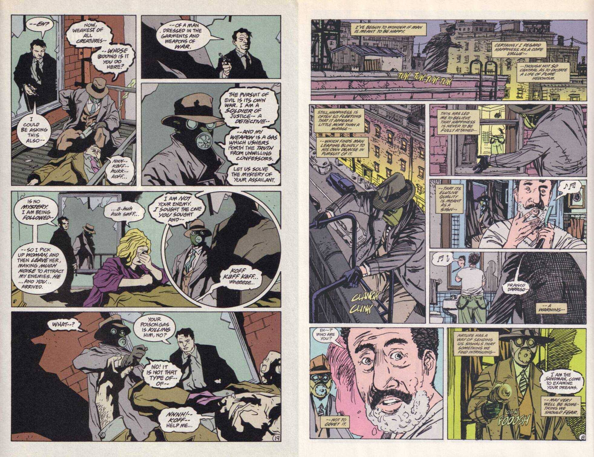 Sandman Mystery The Blackhawk and The Return of the Scarleet Ghost review