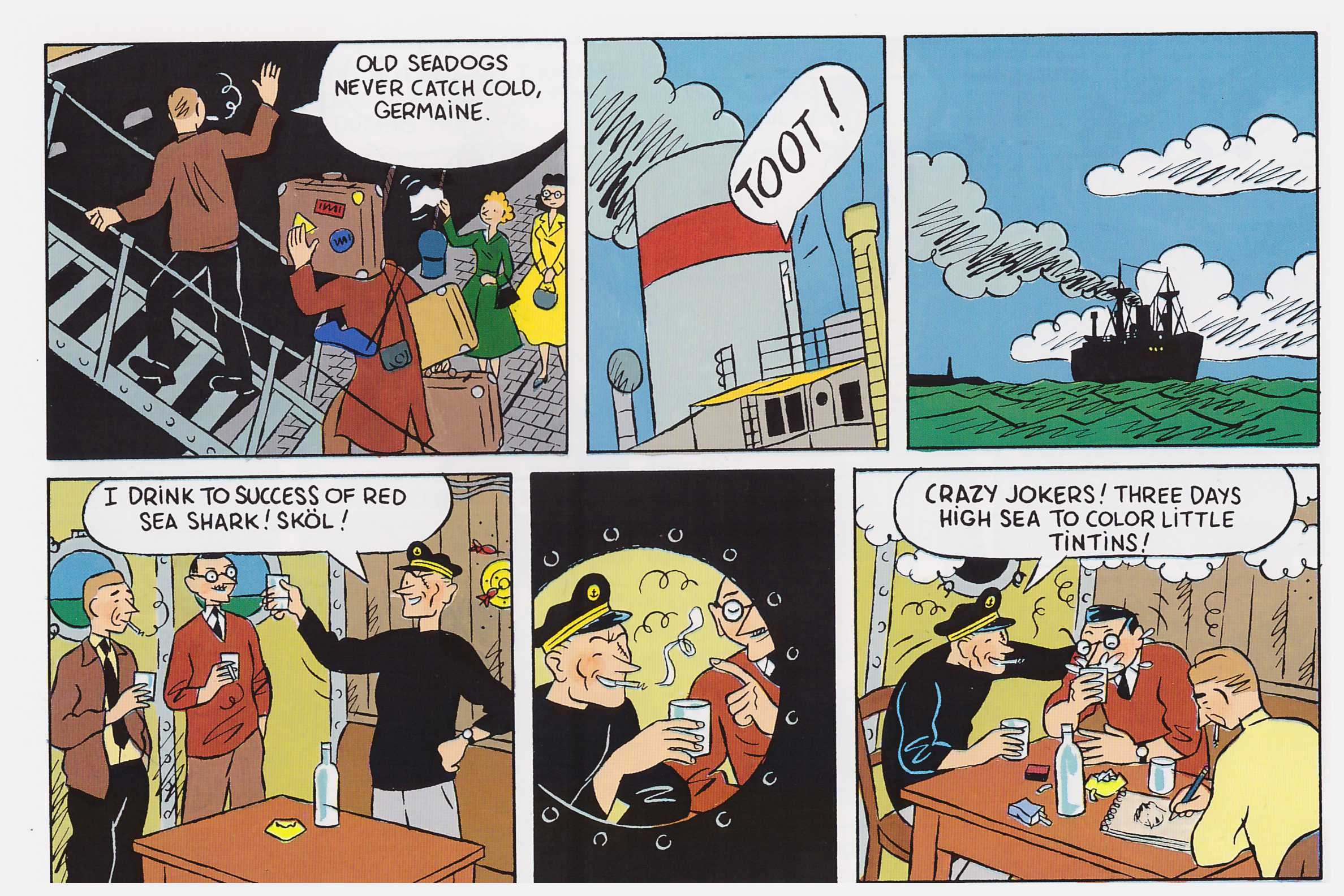 The Adventures of Herge review