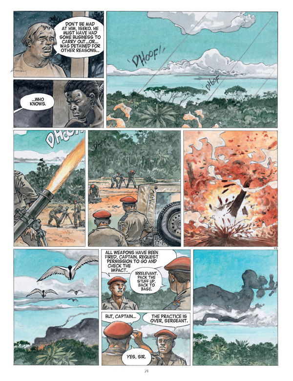 Afrika graphic novel review