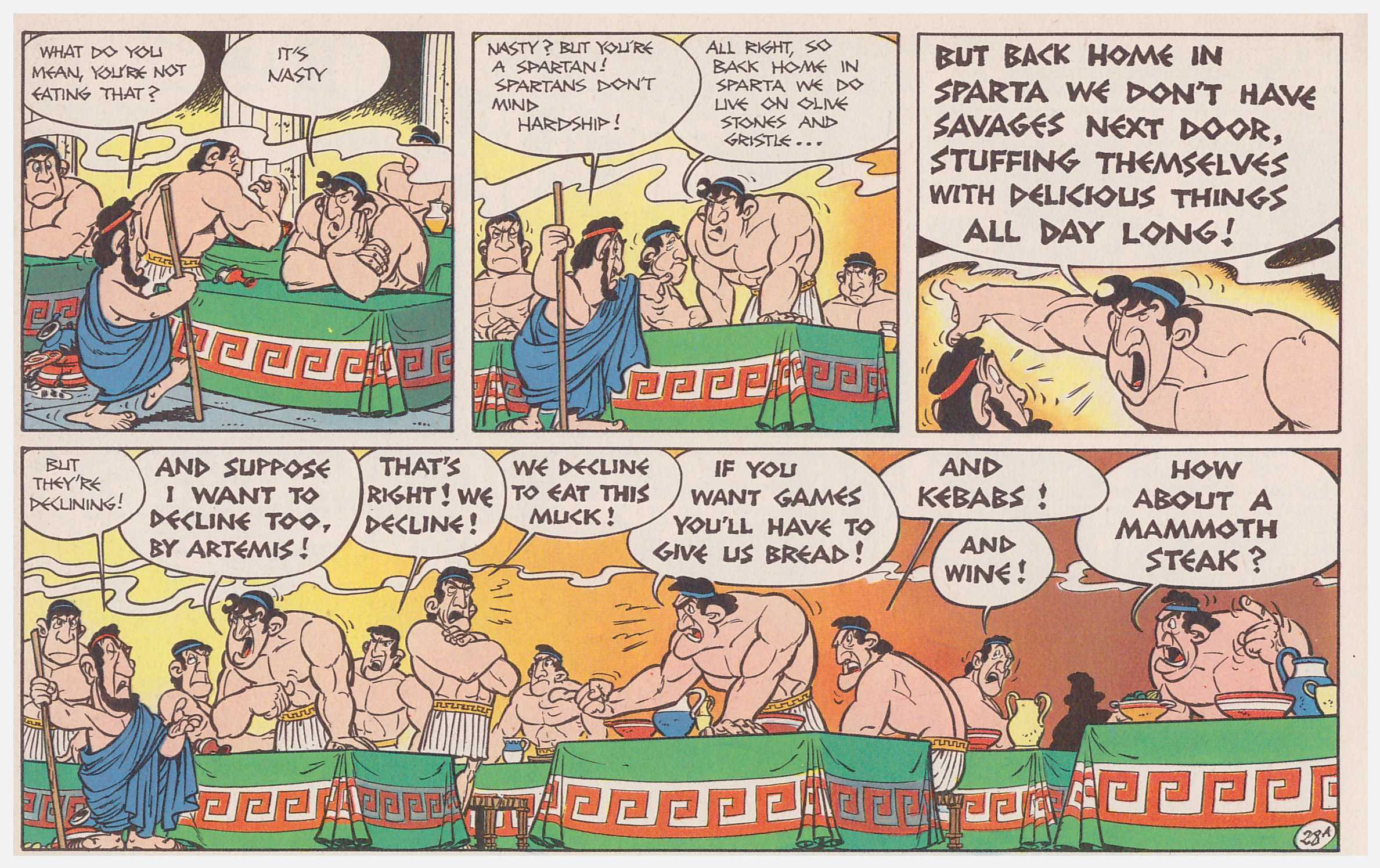 Asterix at the Olympic Games review