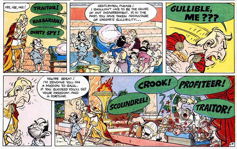 Asterix and the Roman Agent review