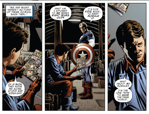 CAptain America by Ed Brubaker review