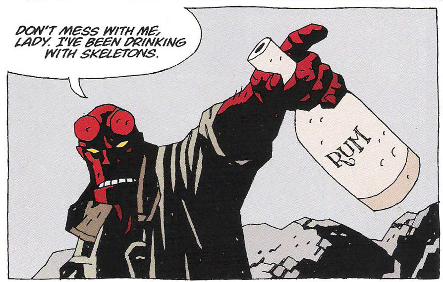 Hellboy Strange Places review