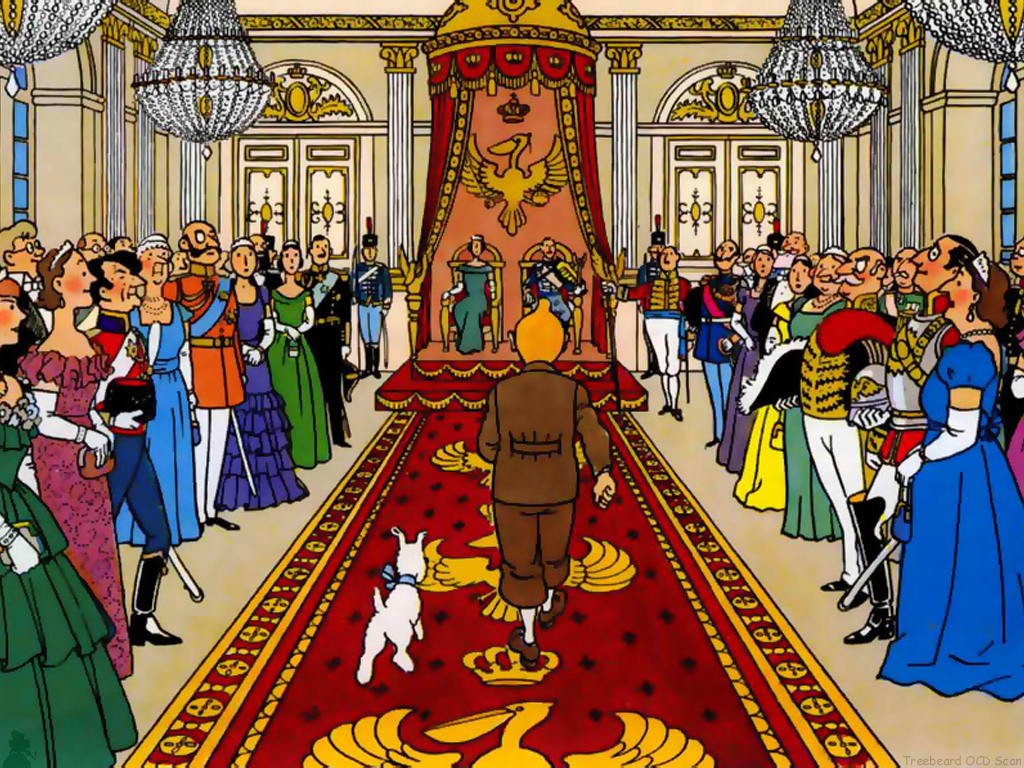 Tintin King Ottokar's Sceptre review