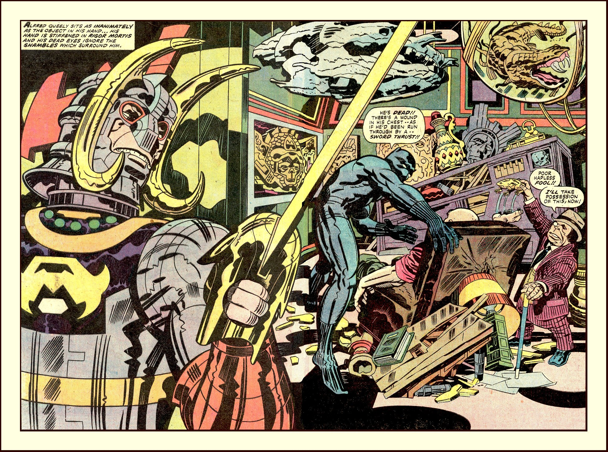 Black Panther by Jack Kirby review