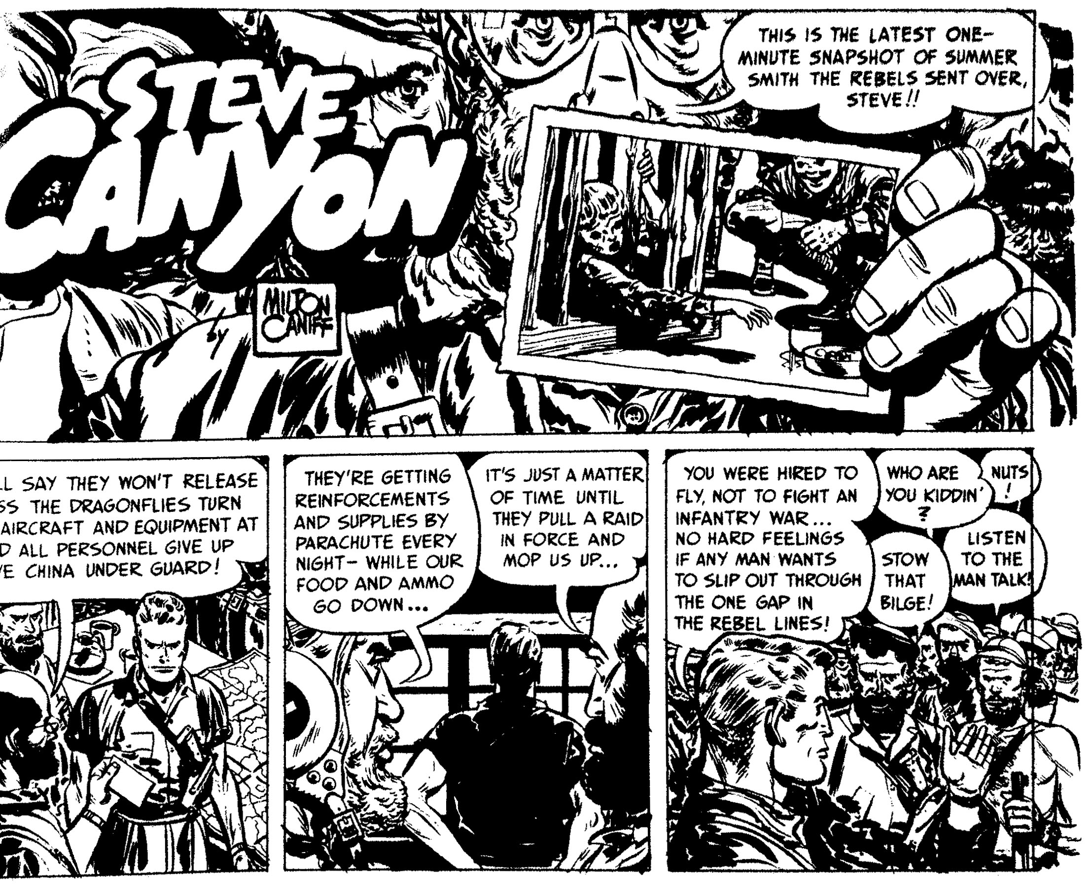 Steve Canyon 1949 review