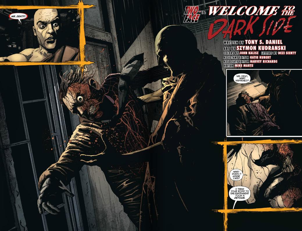 Detective Comics Scare Tactics review