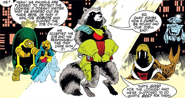 Rocket Raccoon Guardian of the Keystone Quadrant review