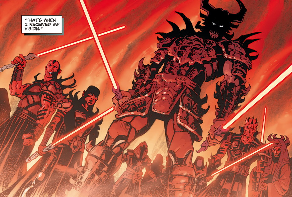 Star Wars Legacy Book 1 review