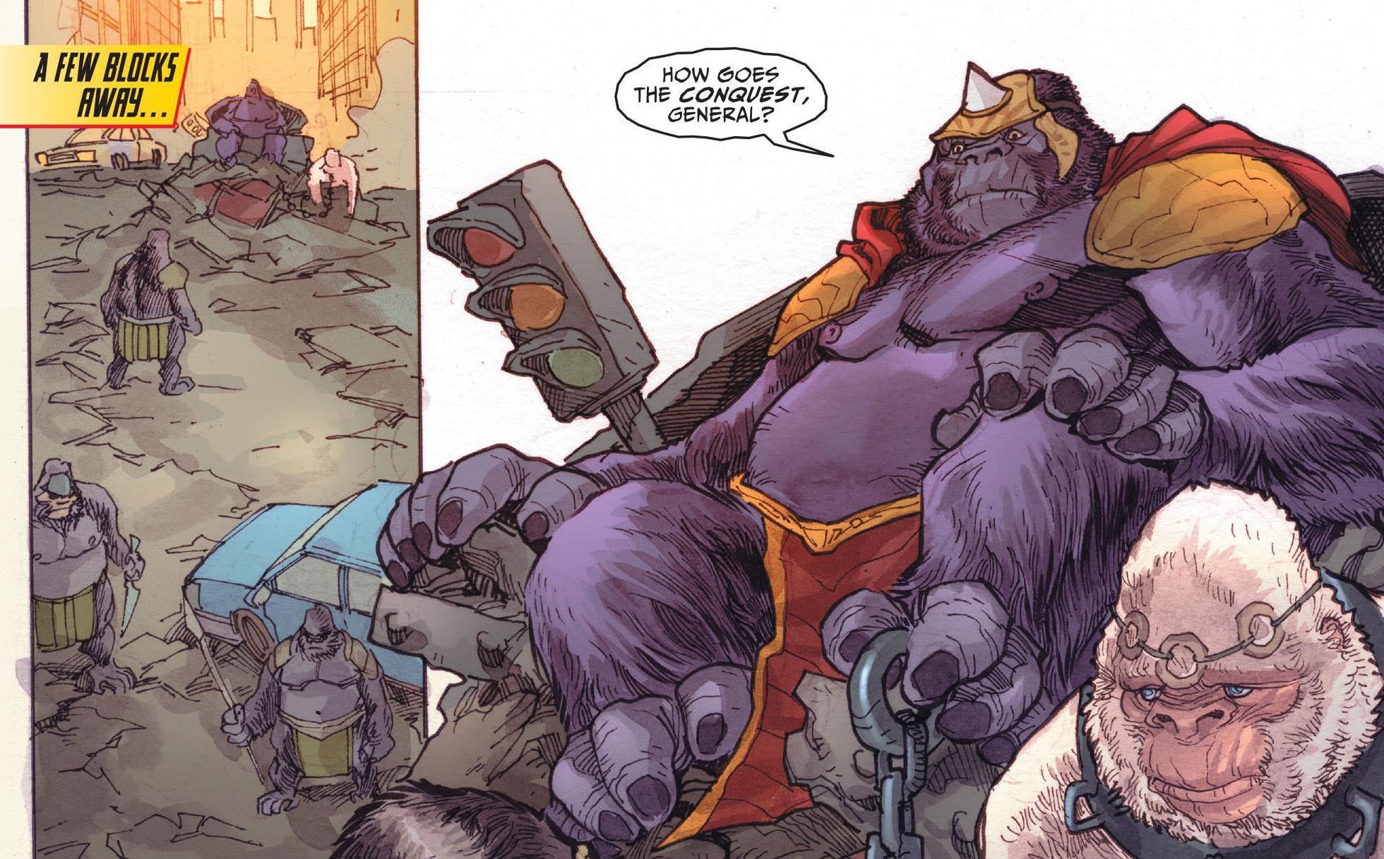 Flash Gorilla Warfare review