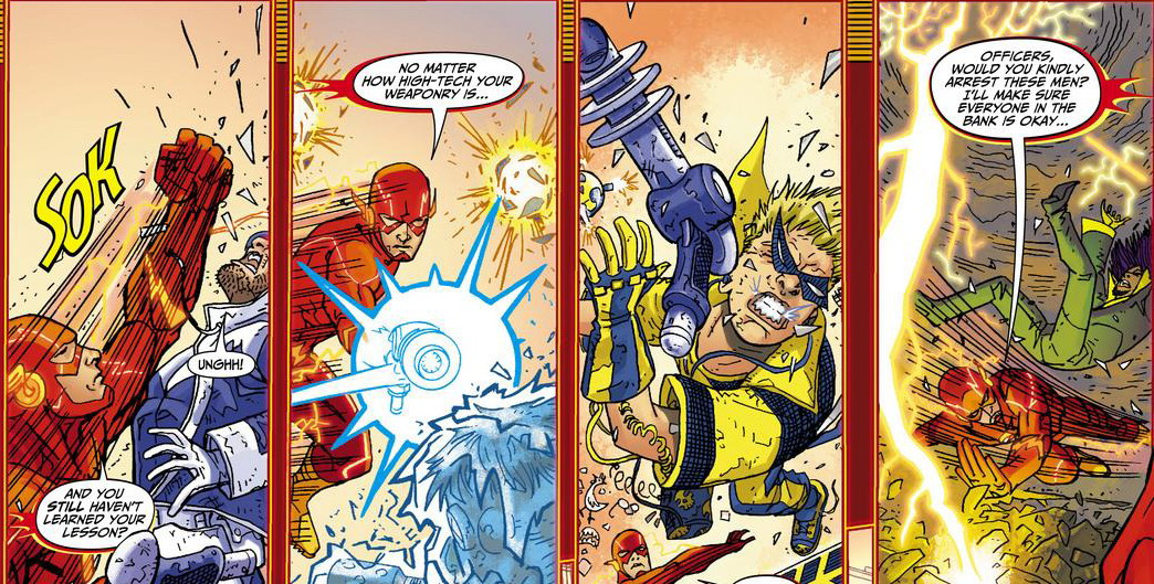 Flash Rogues Revolution review