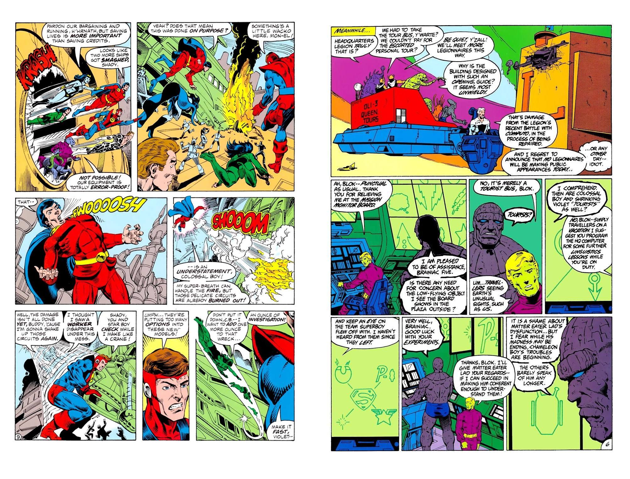 Legion of Superheroes Great Darkness Saga review