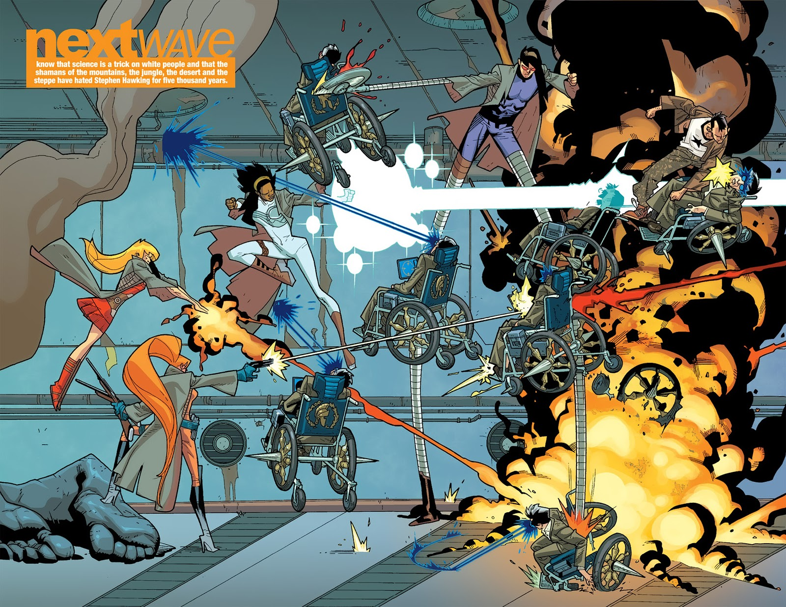 Nextwave Agents of Hate I Kick Your Face review
