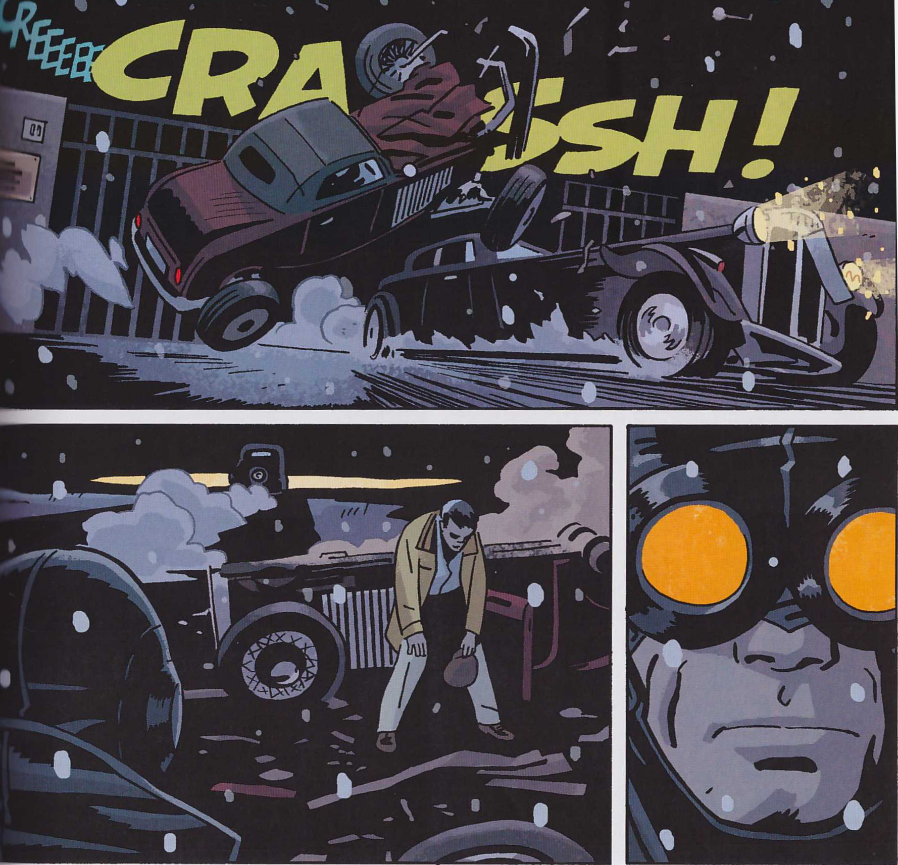 Lobster Johnson The Burning Hand review