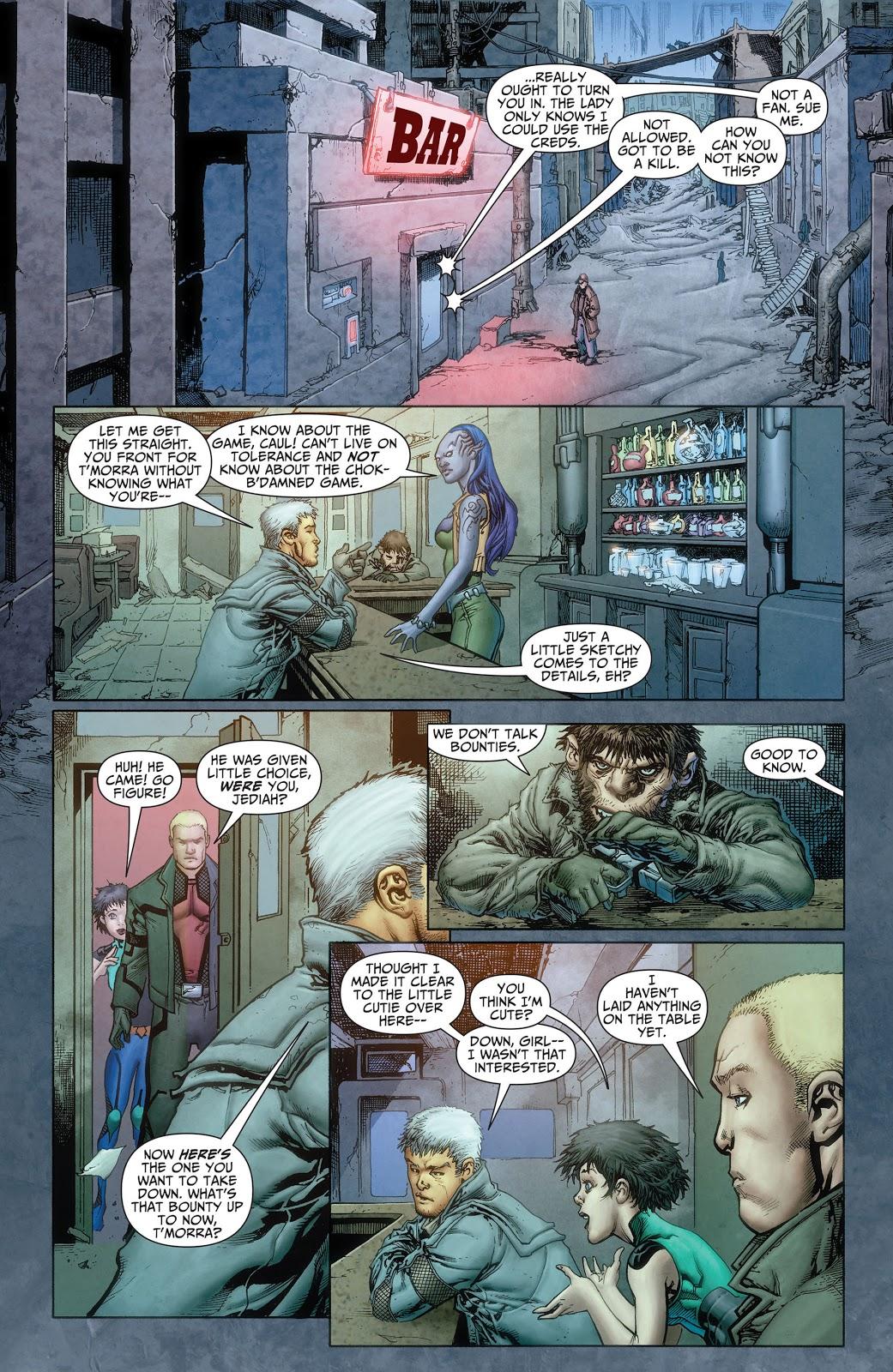 Threshold graphic novel review