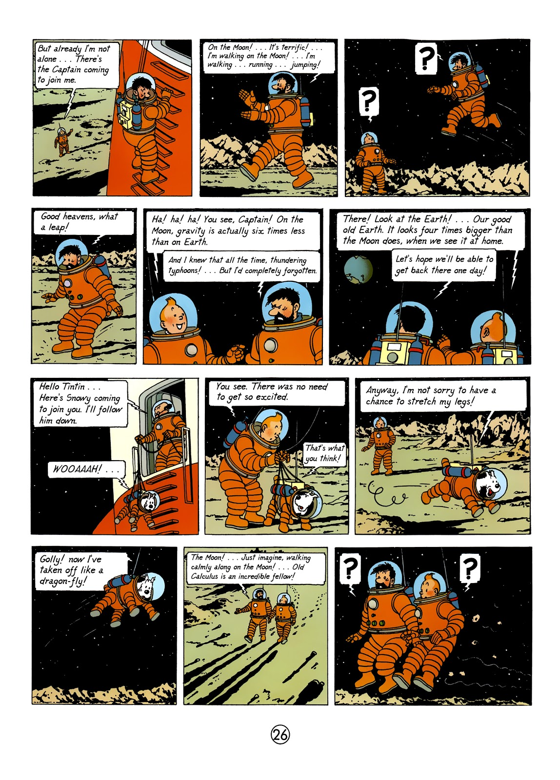 Tintin Explorers on the Moon review