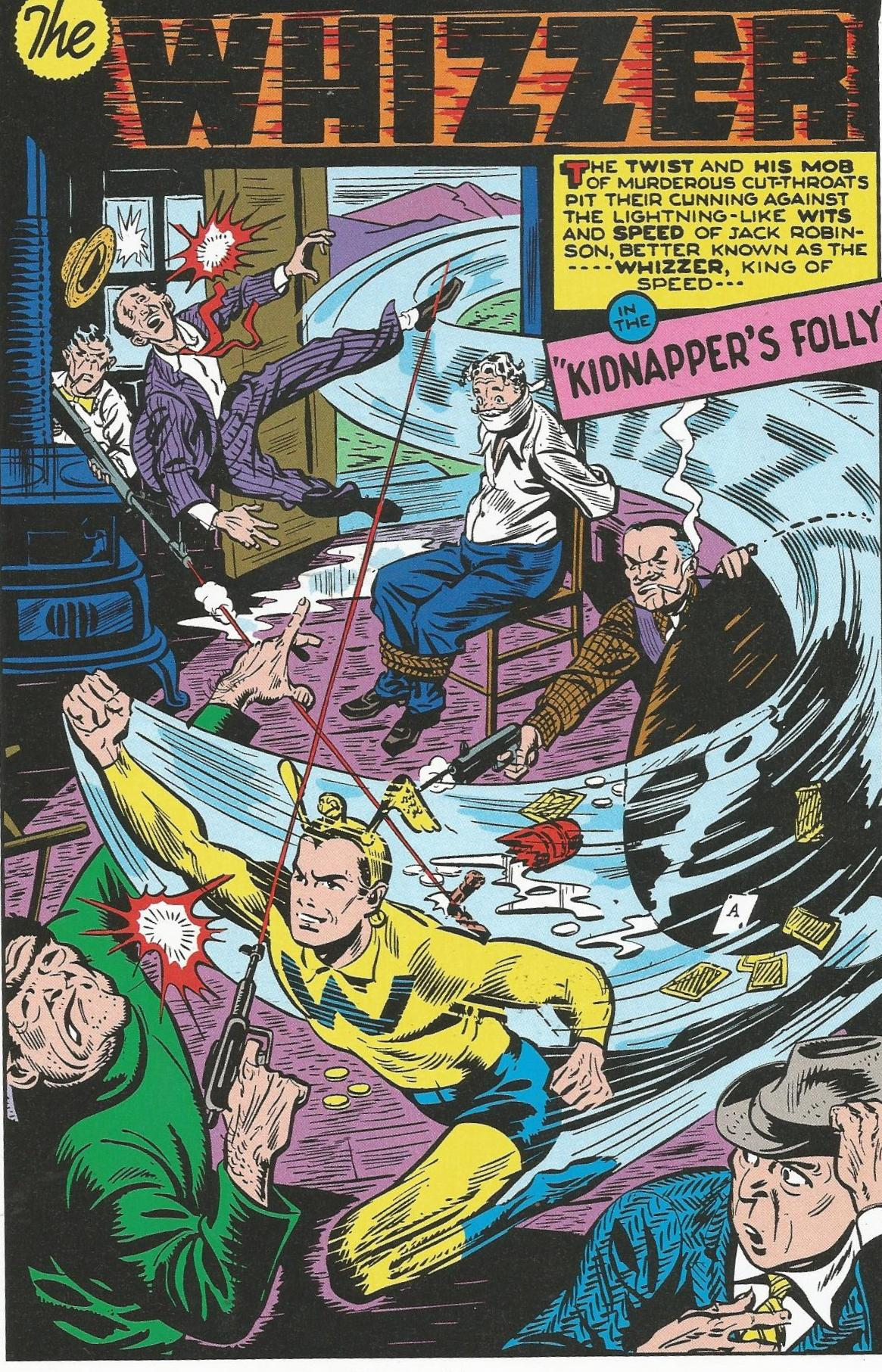 Marvel Masterworks Golden Age All-Winners 3 review