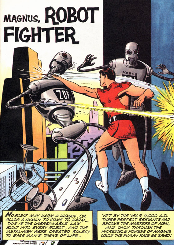Magnus Robot Fighter Archives review