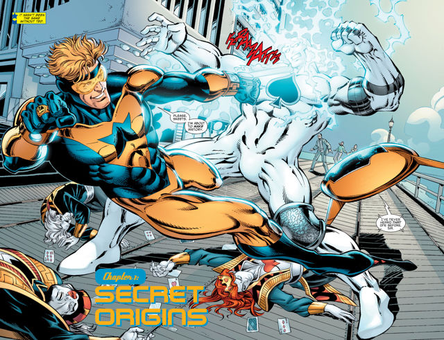 Booster Gold 52 Pickup review