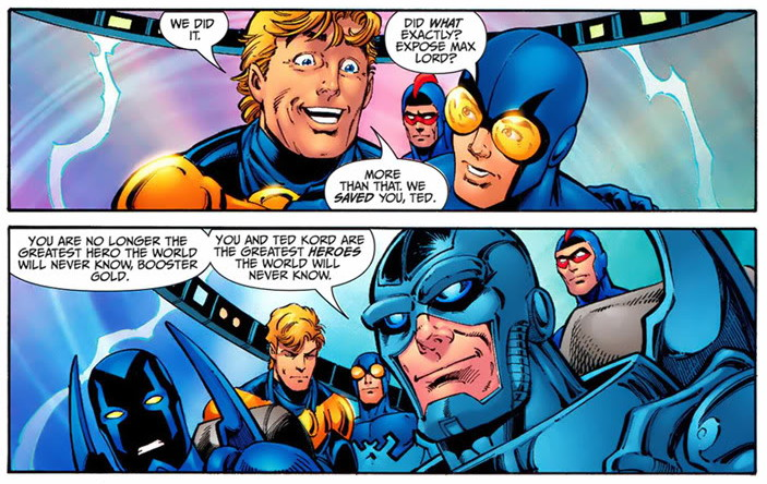 Booster Gold Blue and Gold review