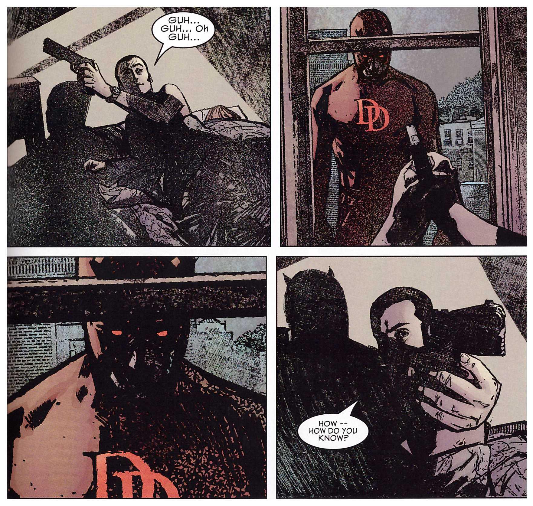 Daredevil Ultimate Bendis 1 review