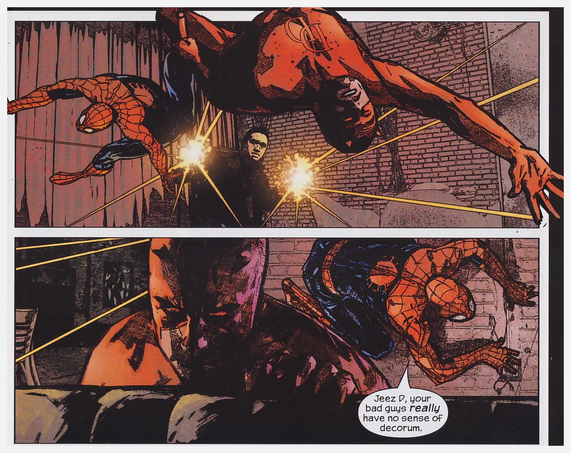Daredevil Ultimate Bendis 2 review