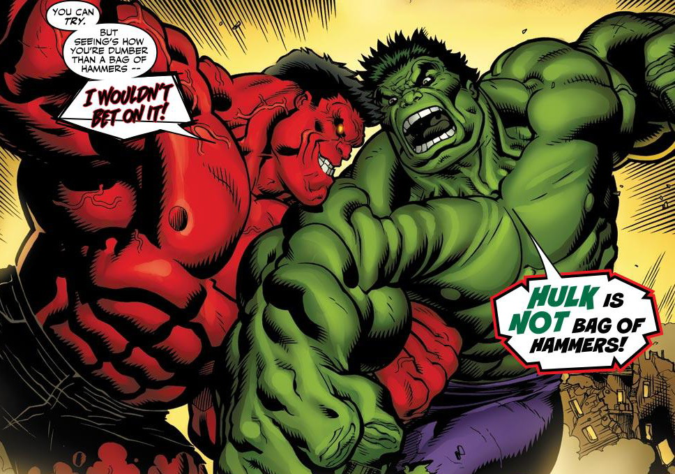 Red Hulk review