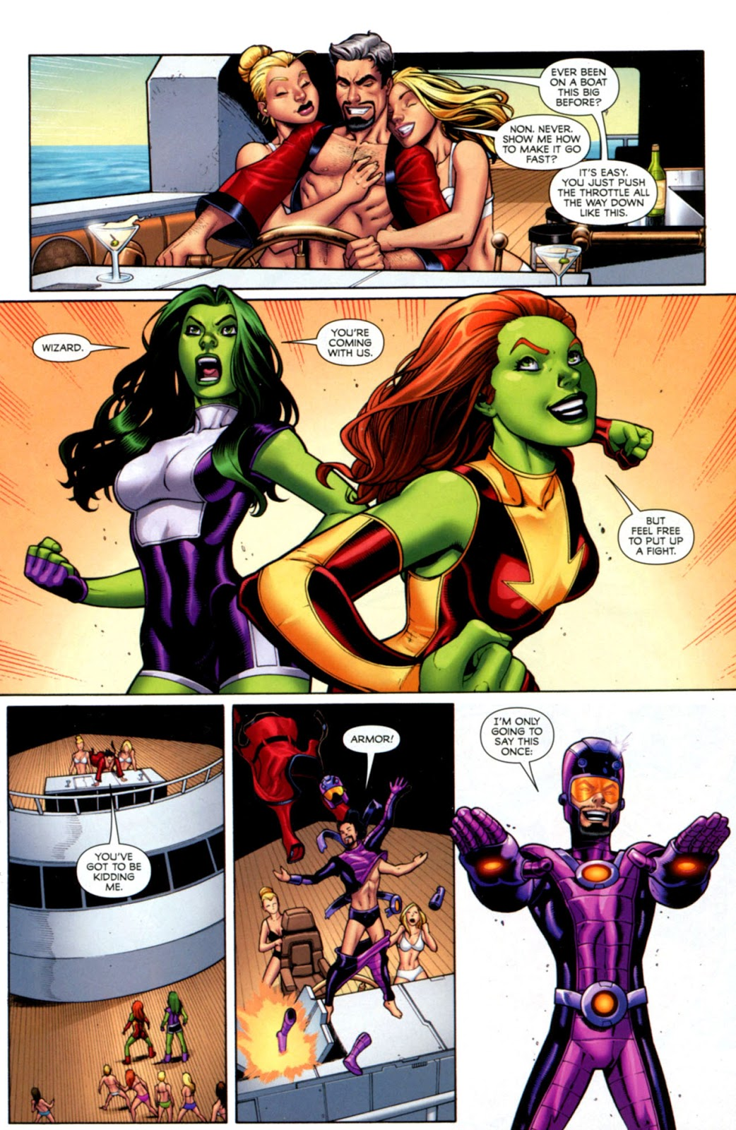 She-Hulks Search for the Intelligencia review