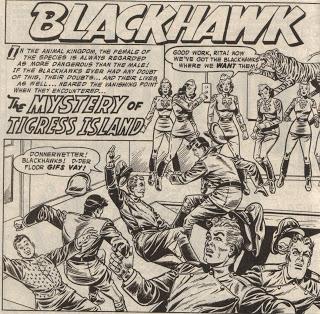 Showcase Presents Blackhawk review