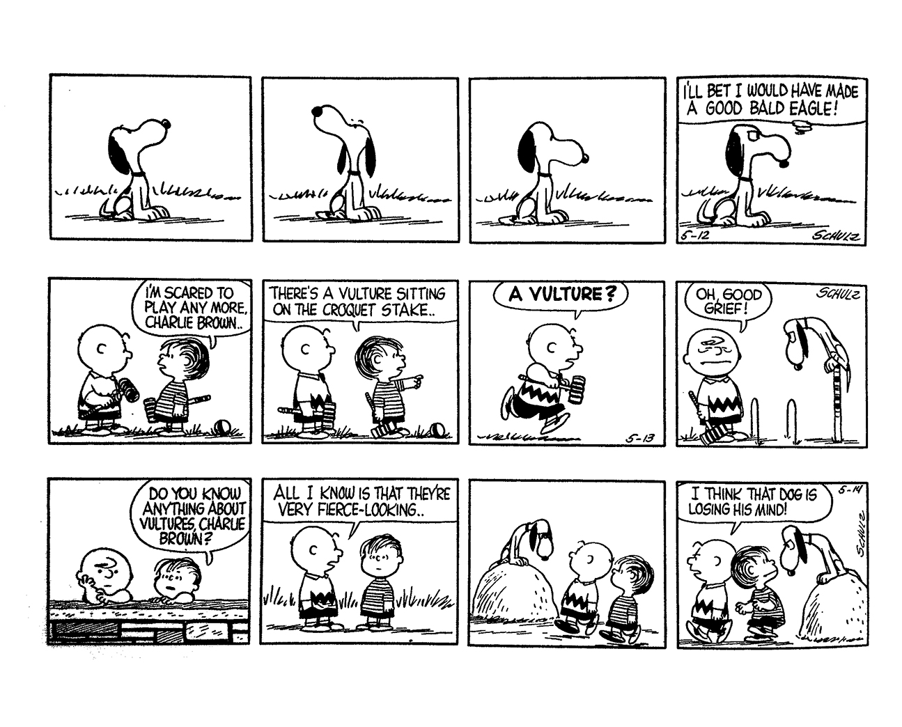 Complete Peanuts 1957 review