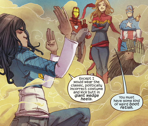 Ms Marvel No Normal review