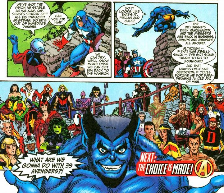 The Avengers by Kurt Busiek and George Perez Omnibus volume 1 review