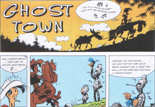Lucky Luke Ghost Town review
