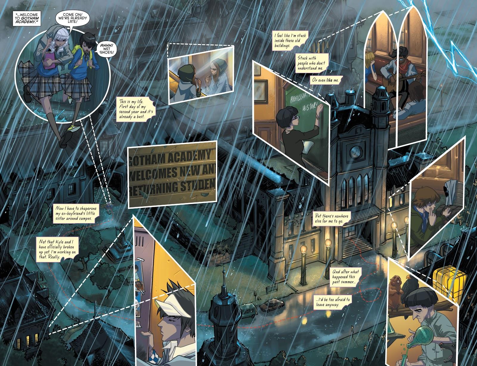 Gotham Academy Welcome to Gotham Academy review
