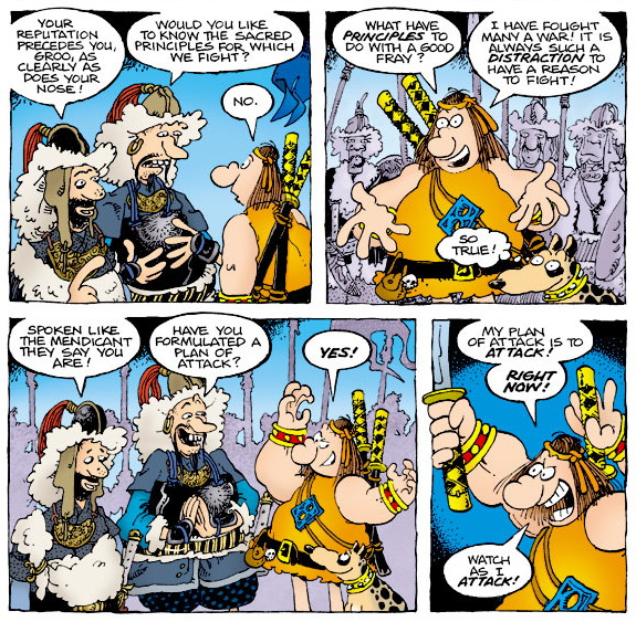 Groo The Hogs of Horder review