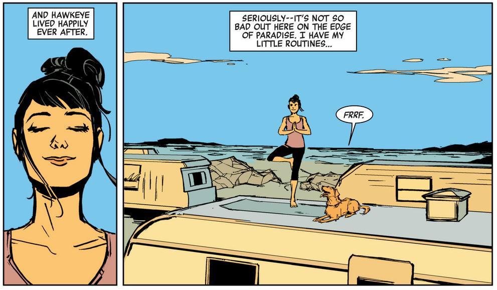 Hawkeye L.A. Woman review