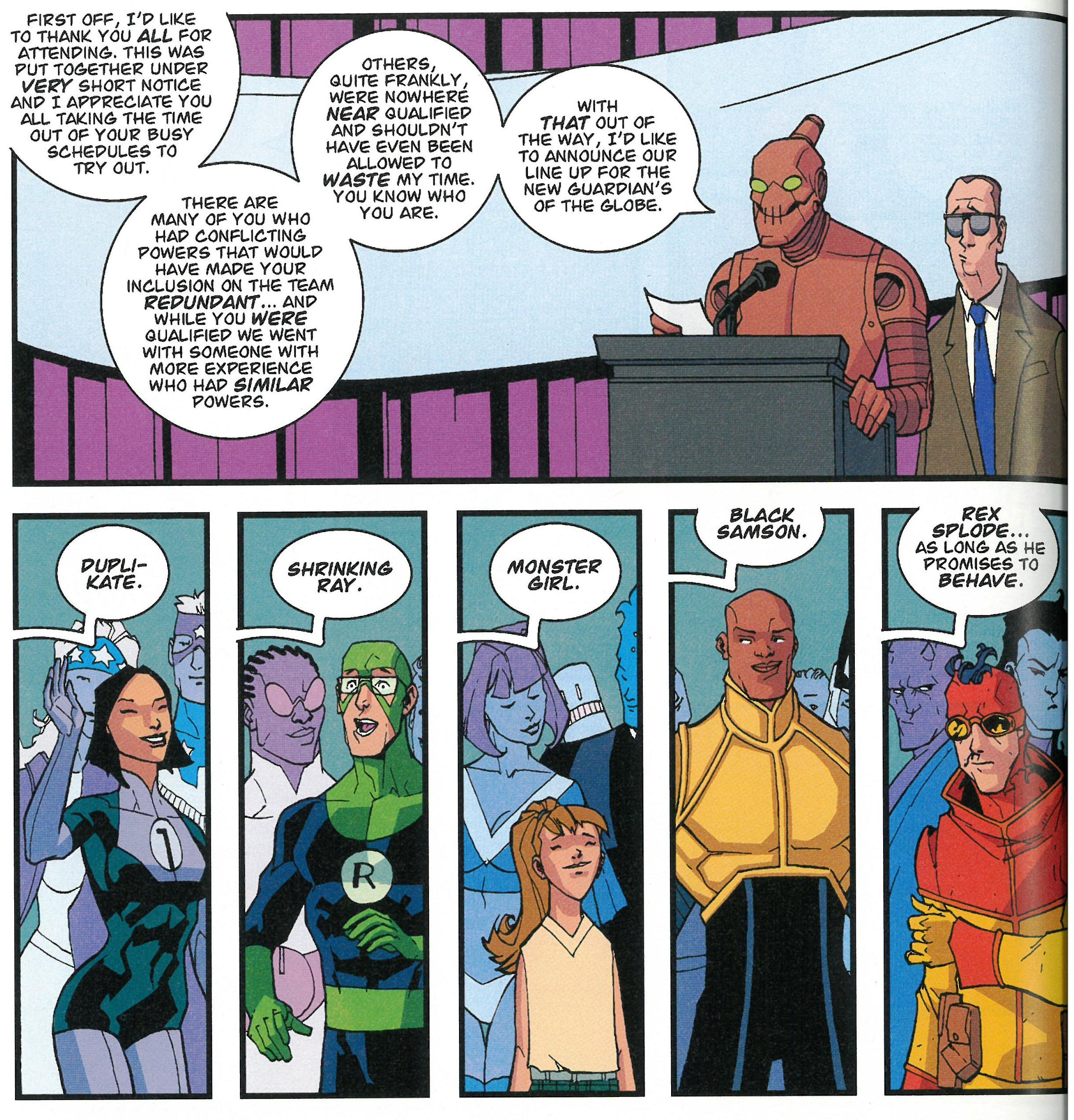 Invincible Perfect Strangers review
