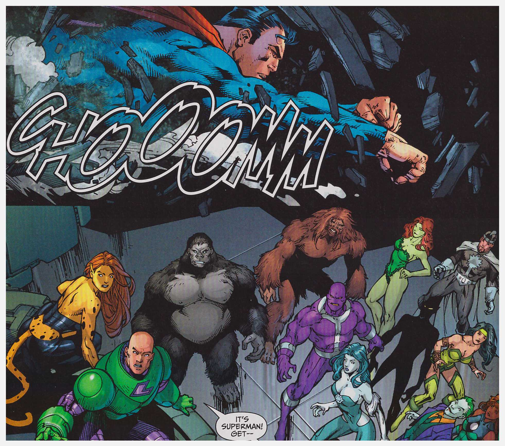 Justice League of America: The Injustice League review