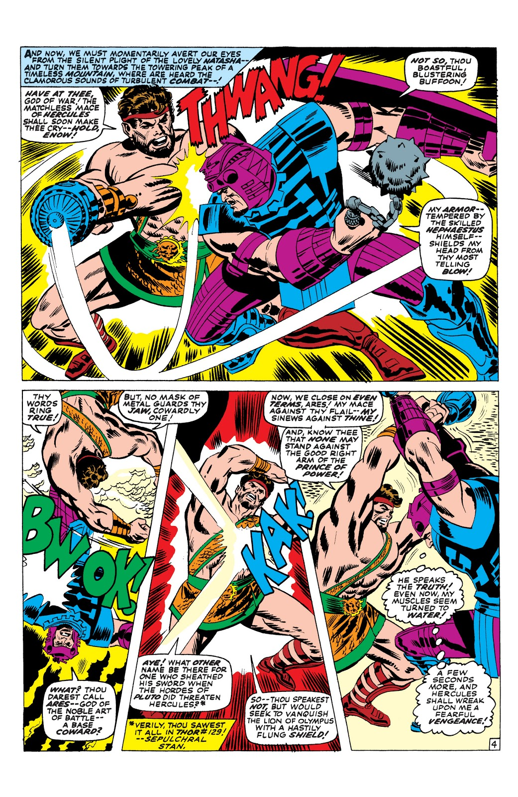 Marvel Masterworks Avengers Vol 4 review