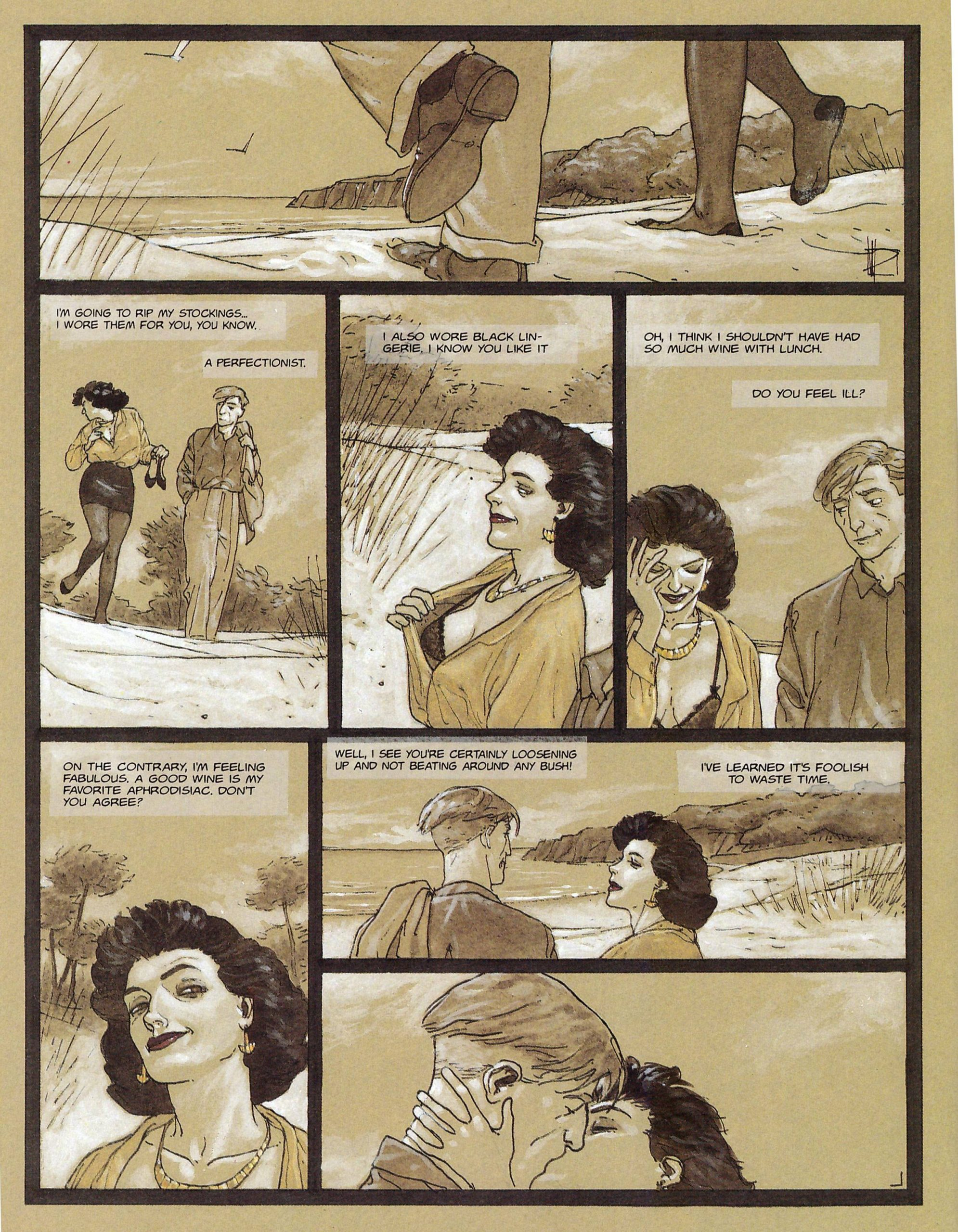 Tangents graphic novel review