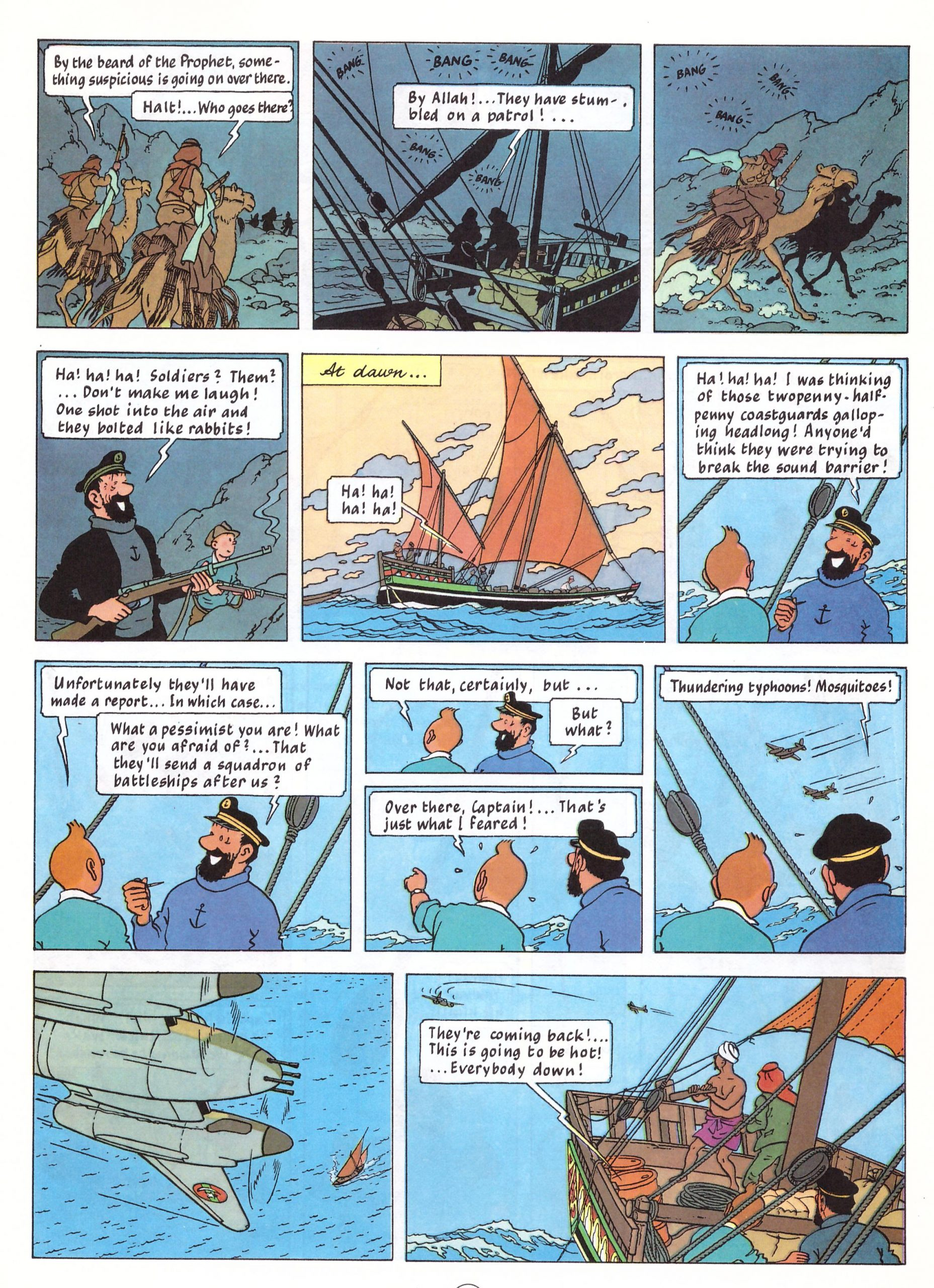 Tintin The Red Sea Sharks review