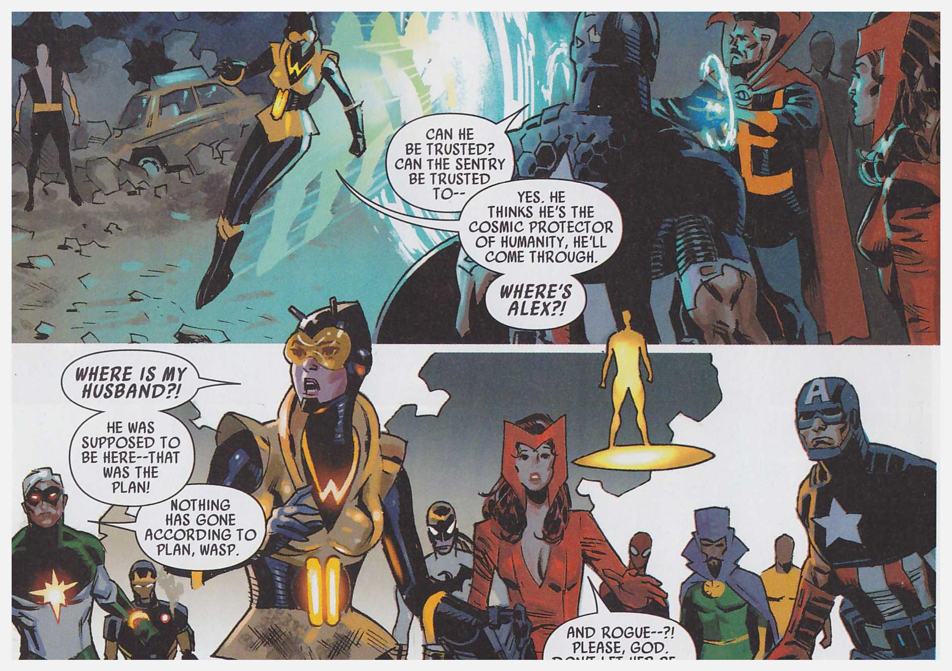 Uncanny Avengers Axis Prelude review