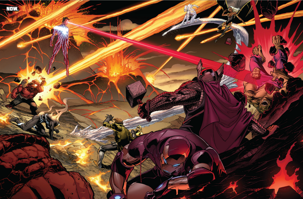 Avengers vs X-Men review