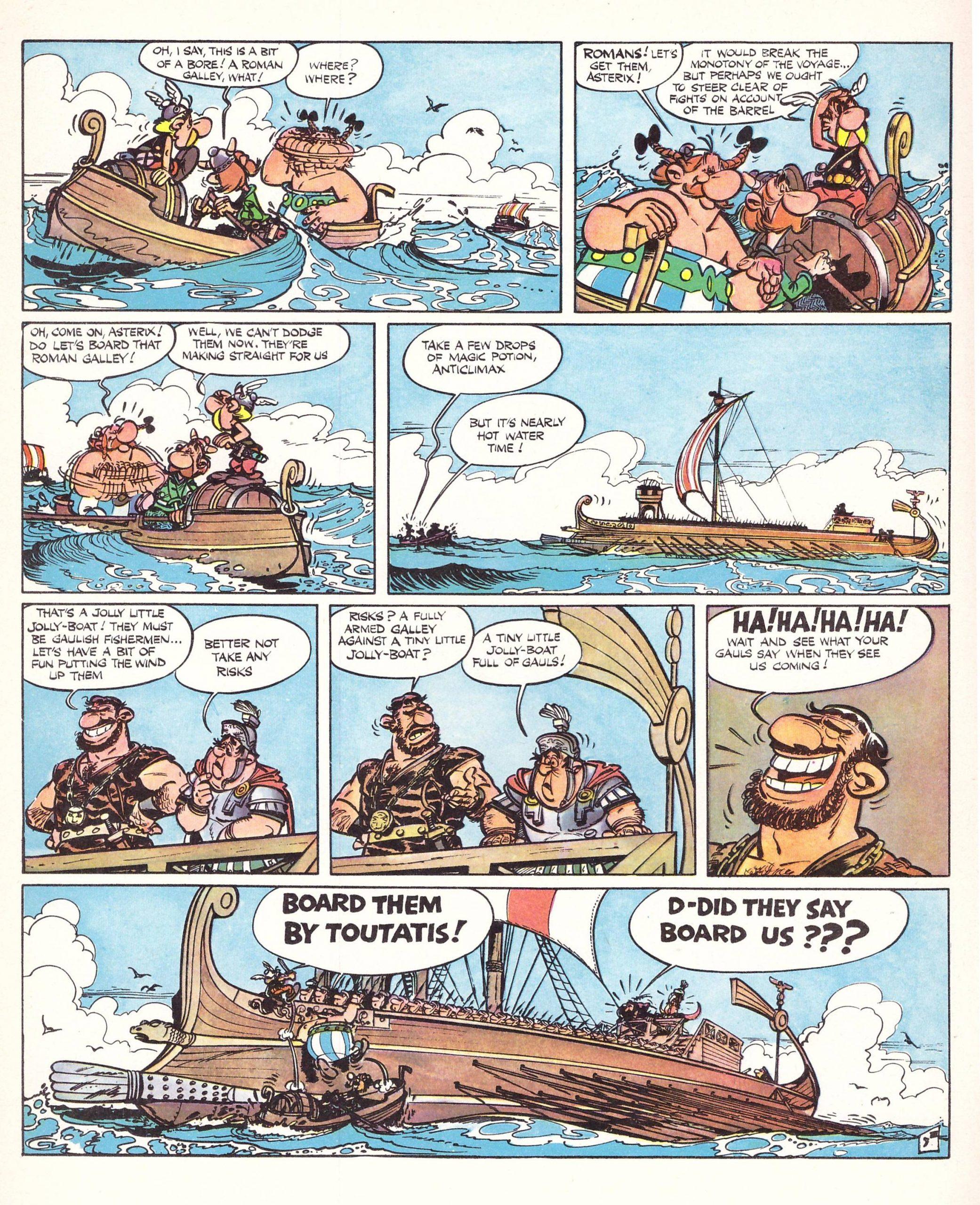 Asterix in Britain reivew