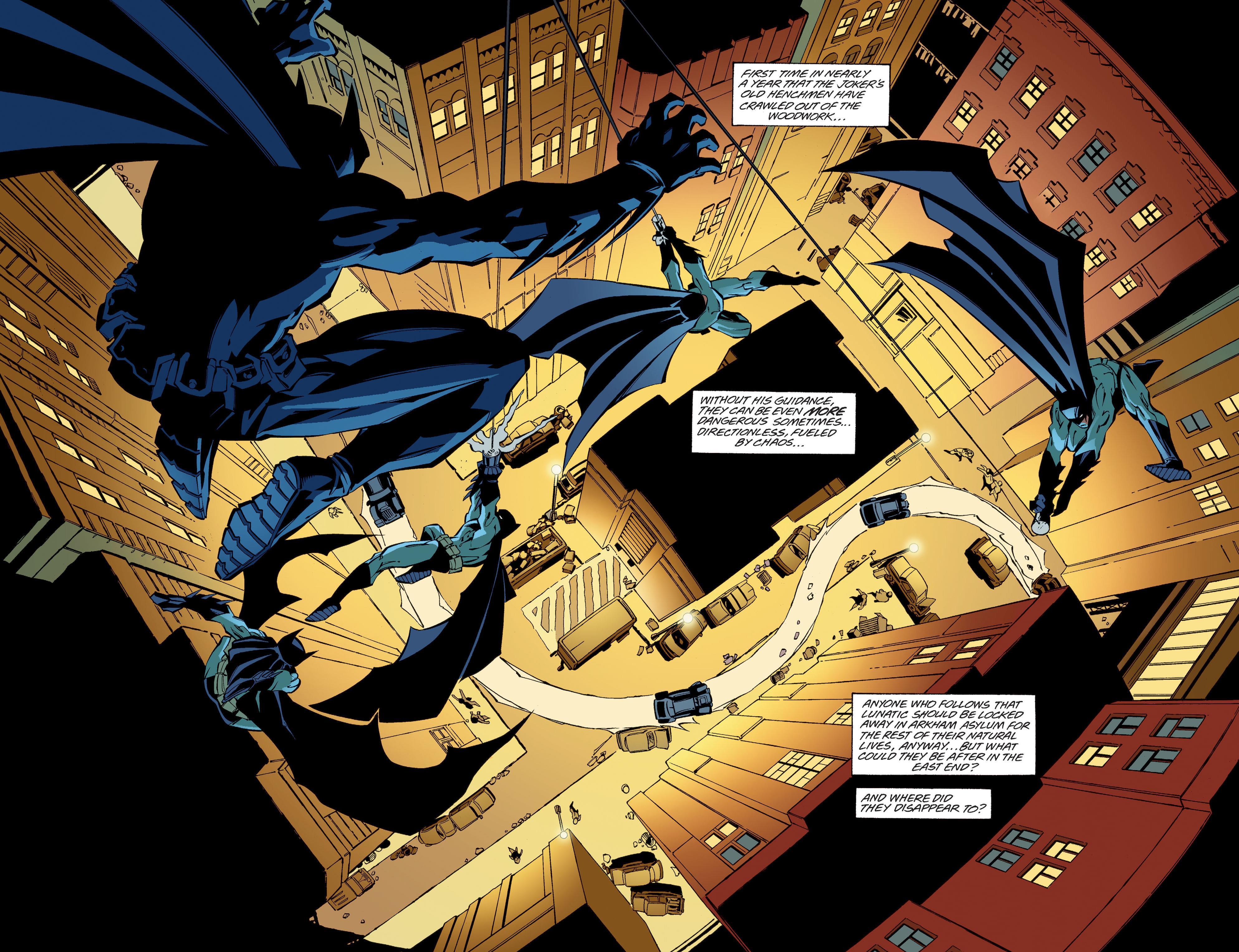 Batman Bruce Wayne Fugitive review