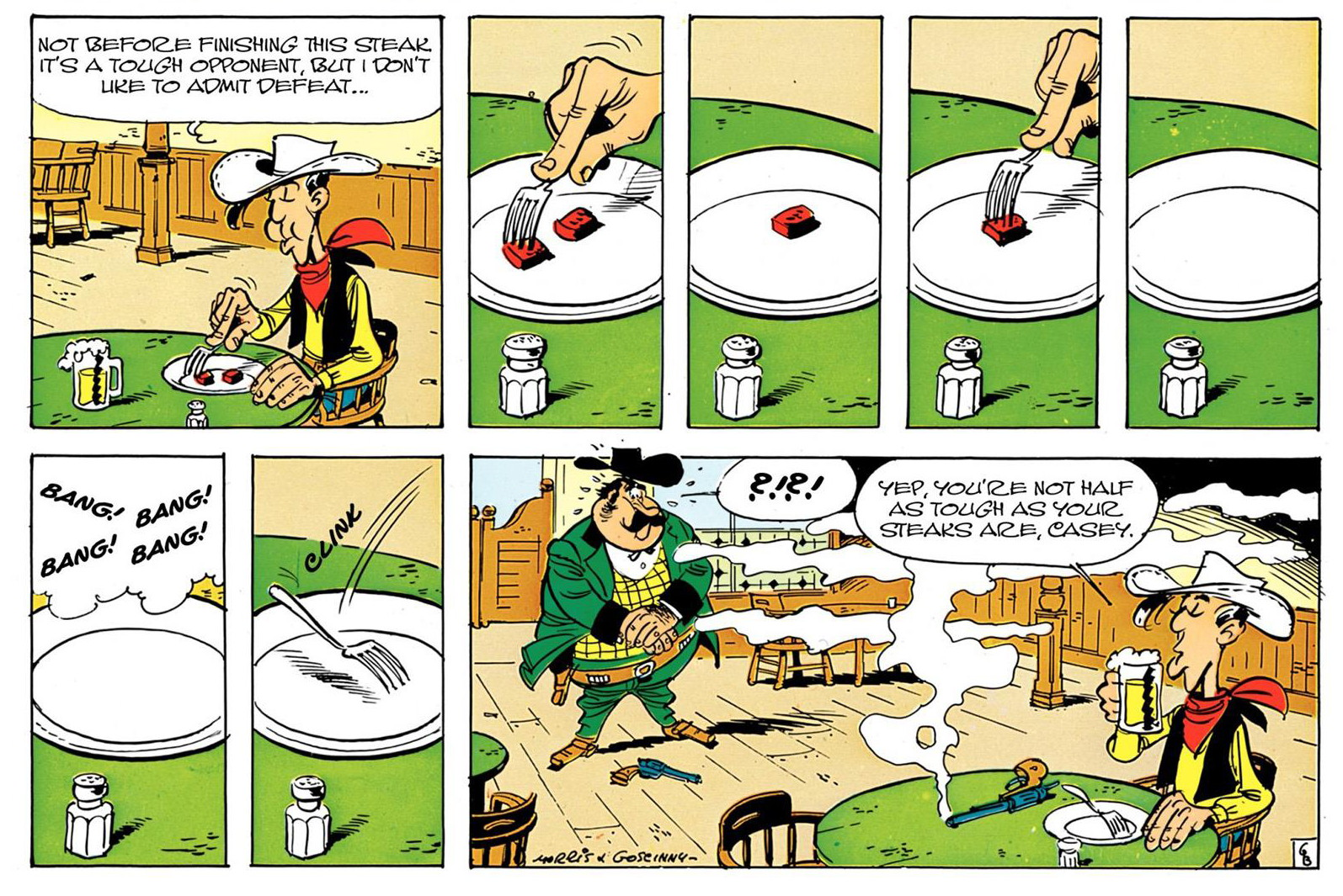 Lucky Luke Barbed Wire on the Prairie review